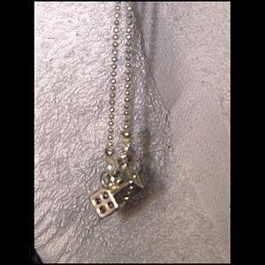Jewelry - NWOT! Vegas Silver Dice Earrings